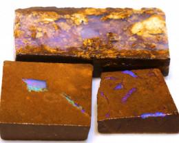 216cts Boulder Pipe Opal Rub Parcel  ADO-9142 - adopals