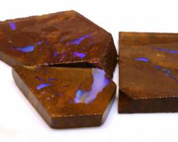 157cts Boulder Pipe Opal Rub Parcel  ADO-9146 - adopals