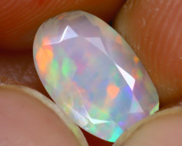 Welo Opal 1.14Ct Natural Ethiopian Play of Color Opal J2901/A44