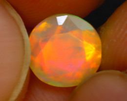Welo Opal 1.12Ct Natural Ethiopian Play of Color Opal J2904/A44