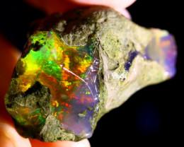 84cts Ethiopian Crystal Rough Specimen Rough / CR4522