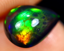 1.43cts Natural Ethiopian Welo Smoked Opal / HM2711