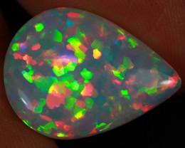 5.14 CT Map Pattern Top  Grade Rare Natural Ethiopian Opal-MCC25