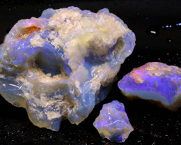 80cts Dark/Jelly Opal Rough Parcel L.Ridge ADO-9214  adopals