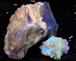 50cts Dark/Jelly Opal Rough Parcel L.Ridge ADO-9215  adopals