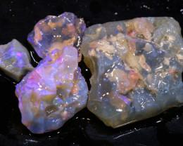 40cts Dark/Jelly Opal Rough Parcel L.Ridge ADO-9217  adopals