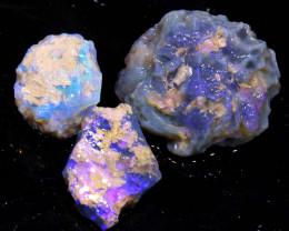 30cts Dark/Jelly Opal Rough Parcel L.Ridge ADO-9218  adopals