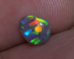 0.94ct Lightning Ridge Crystal Opal FM316
