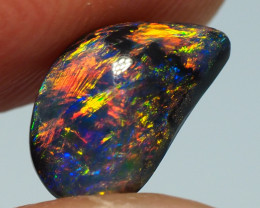 1.25CT BLACK OPAL  LIGHTNING RIDGE AA720