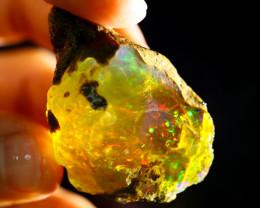 114cts Ethiopian Crystal Rough Specimen Rough / CR4534