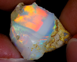 5cts Natural Ethiopian Welo Rough Opal / WR8116