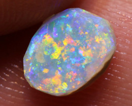 0.70cts Lightning Ridge Prefinished Opal Rub ADO-9265 adopals