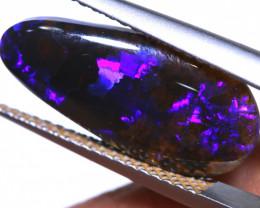 N 1- 2.15 cts  black opal lightning ridge TBO-A3470  trueblueopals
