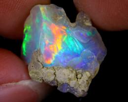 8cts Natural Ethiopian Welo Rough Opal / PA156