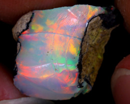 7cts Natural Ethiopian Welo Rough Opal / PA171