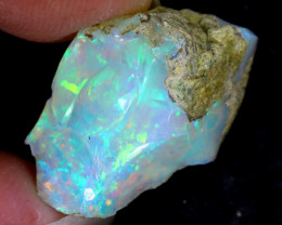 9cts Natural Ethiopian Welo Rough Opal / PA184