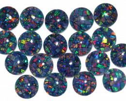 16 Cts Parcel 19 Australian Opal Triplet Mosaic  6x6mm FO 1599