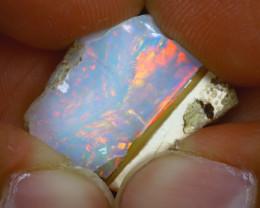 9.70Ct Multi Color Play Ethiopian Welo Opal Rough GN12/R2