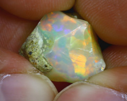8.50Ct Multi Color Play Ethiopian Welo Opal Rough GN13/R2