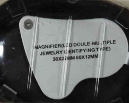 Opal Magnifier- Two Lens - With LED lights [34707]