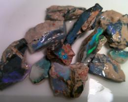 Virgin material!! 212cts big size Lightning Ridge  opal rough parcel