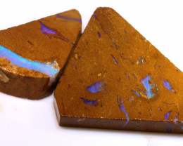 85.05cts Boulder Pipe Opal Prefinished Rubs ADO-9293 - adopals