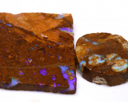 103cts Boulder Pipe Opal Prefinished Rubs ADO-9294 - adopals