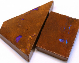 115.25cts Boulder Pipe Opal Prefinished Rubs ADO-9298 - adopals