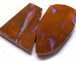 103.20cts Boulder Pipe Opal Prefinished Rubs ADO-9301 - adopals