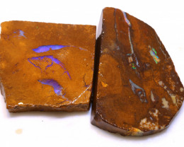 94.65cts Boulder Pipe Opal Prefinished Rubs ADO-9306 - adopals