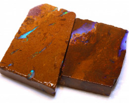 102.15cts Boulder Pipe Opal Prefinished Rubs ADO-9307 - adopals