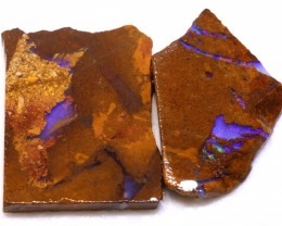 87.90cts Boulder Pipe Opal Prefinished Rubs ADO-9308 - adopals