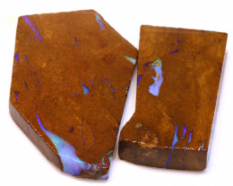 91.05cts Boulder Pipe Opal Prefinished Rubs ADO-9310 - adopals