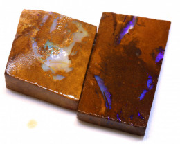 83.55cts Boulder Pipe Opal Prefinished Rubs ADO-9311 - adopals