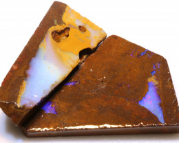 99.05cts Boulder Pipe Opal Prefinished Rubs ADO-9313 - adopals