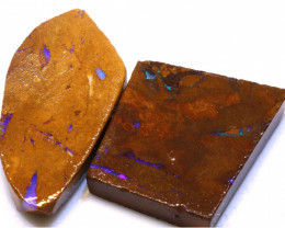 128.60cts Boulder Pipe Opal Prefinished Rubs ADO-9314 - adopals