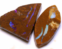 72.15cts Boulder Pipe Opal Prefinished Rubs ADO-9315 - adopals