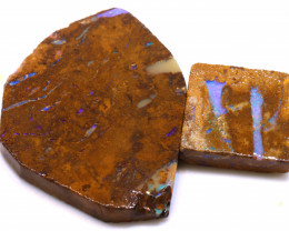 134cts Boulder Pipe Opal Prefinished Rubs ADO-9324 - adopals