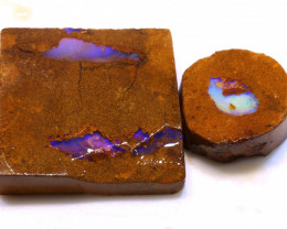 96cts Boulder Pipe Opal Prefinished Rubs ADO-9328 - adopals