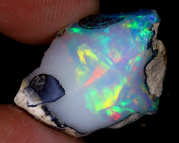 10cts Natural Ethiopian Welo Rough Opal / WR8129