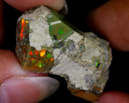 19cts Natural Ethiopian Welo Rough Opal / WR8130