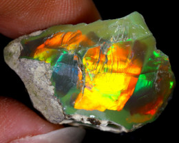 23cts Natural Ethiopian Welo Rough Opal / WR8136