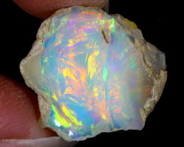 5cts Natural Ethiopian Welo Rough Opal / WR8140