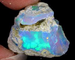 15cts Natural Ethiopian Welo Rough Opal / PA226