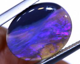 N 3-  3.30 cts   black opal stone lightning ridge TBO-A3494  trueblueopals