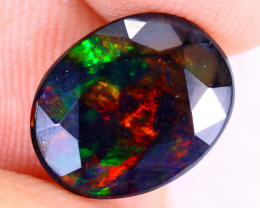 1.91cts Natural Ethiopian Welo Faceted Smoked Opal / NY2851