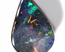 3.8 CTS BOULDER OPAL POLISHED STONE FROM WINTON  [CS716]