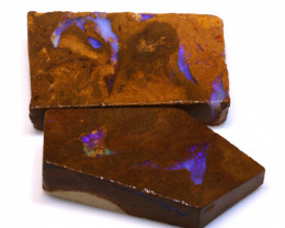 143cts Boulder Pipe Opal Prefinished Rubs  ADO-9395 - adopals
