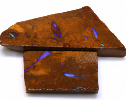 102cts Boulder Pipe Opal Prefinished Rubs  ADO-9399 - adopals