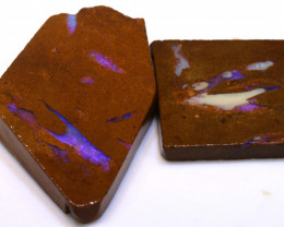 139cts Boulder Pipe Opal Prefinished Rubs  ADO-9400 - adopals